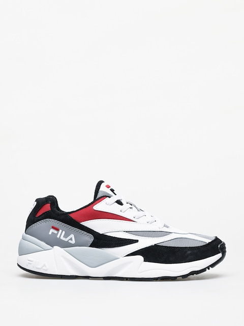 Fila V94M Low Shoes (black/white/fila red)