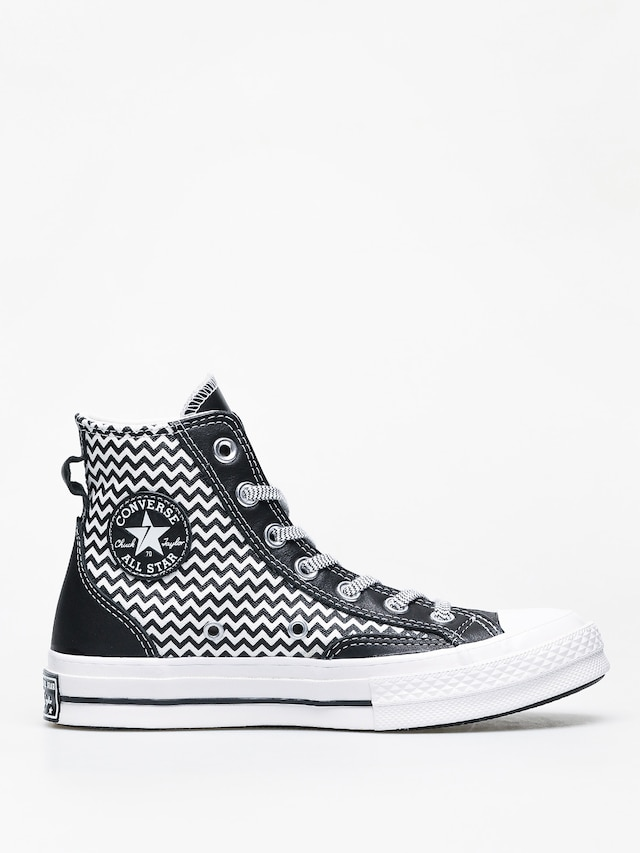 Converse Women's Chuck Taylor All Star Mission V Hi Top Trainers BlackWhiteWhite
