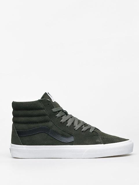 Vans Sk8 Hi Shoes (forest night/true white)