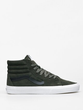 Vans Sk8 Hi Shoes (forest night/true white)