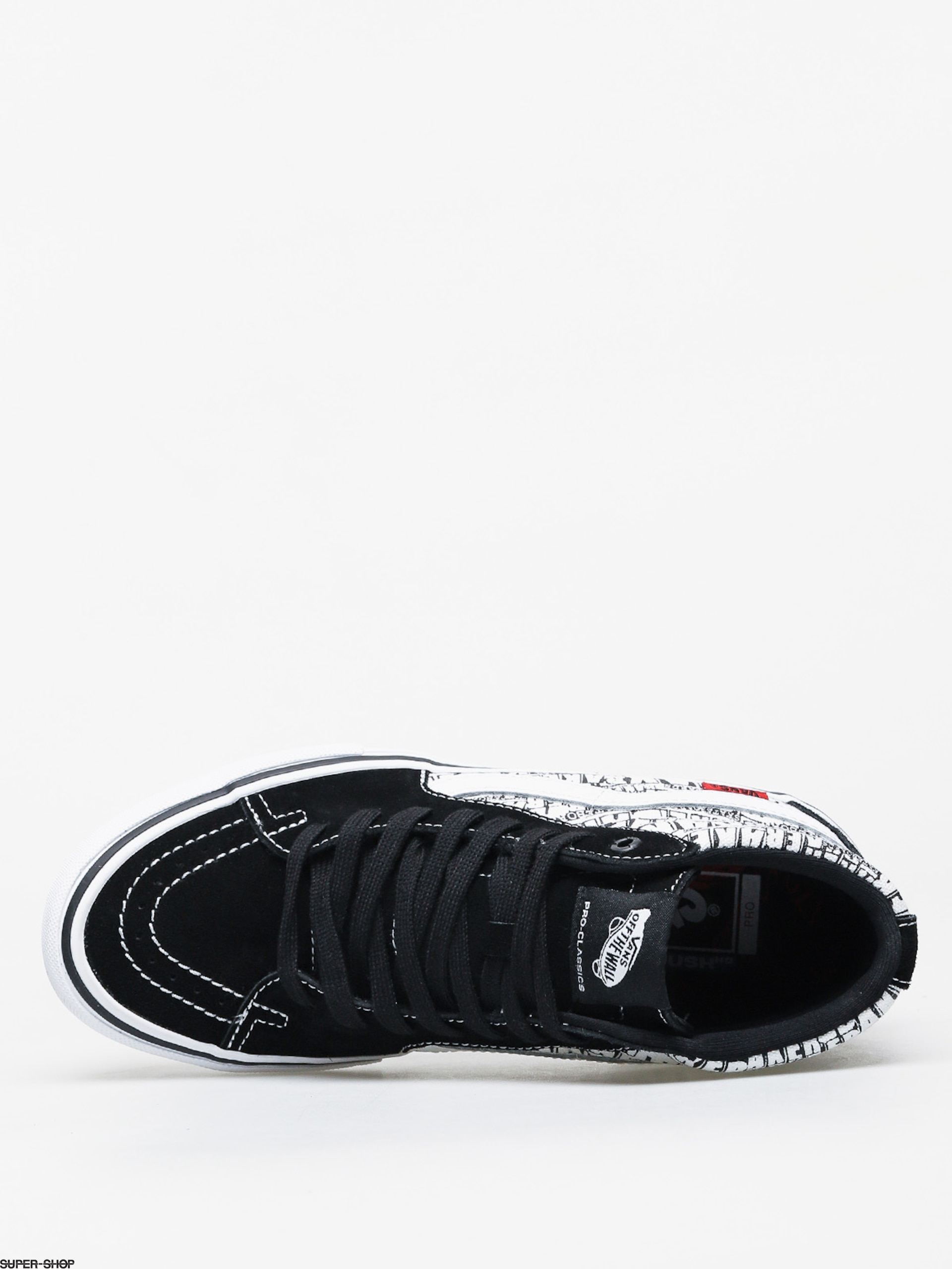 Vans X Baker Sk8 Hi Pro Shoes (blackwhite)