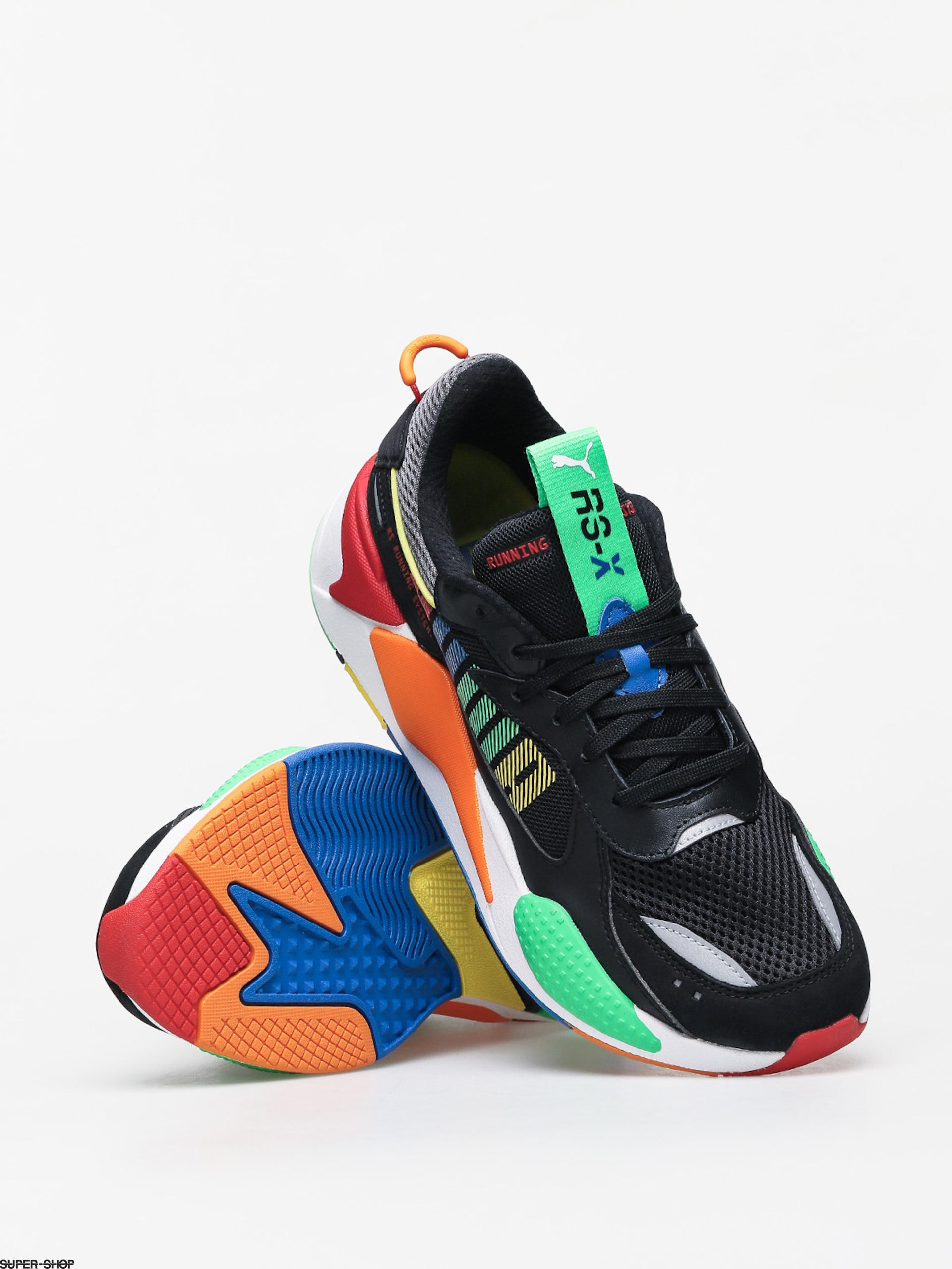 Puma RS X Bold Shoes (puma blackandean toucanorange)