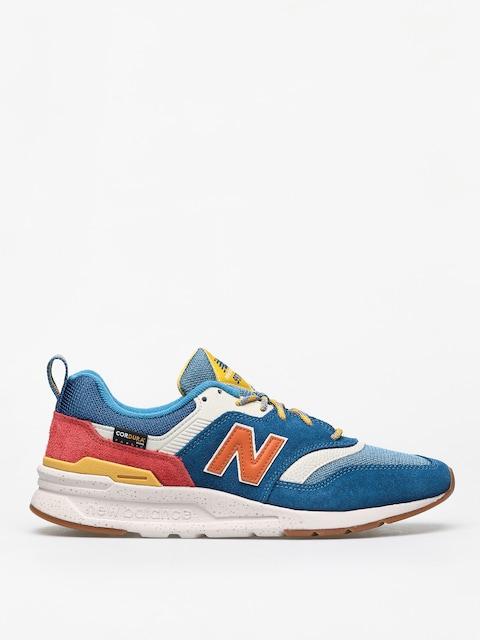 New Balance 997 Shoes (blue/orange)