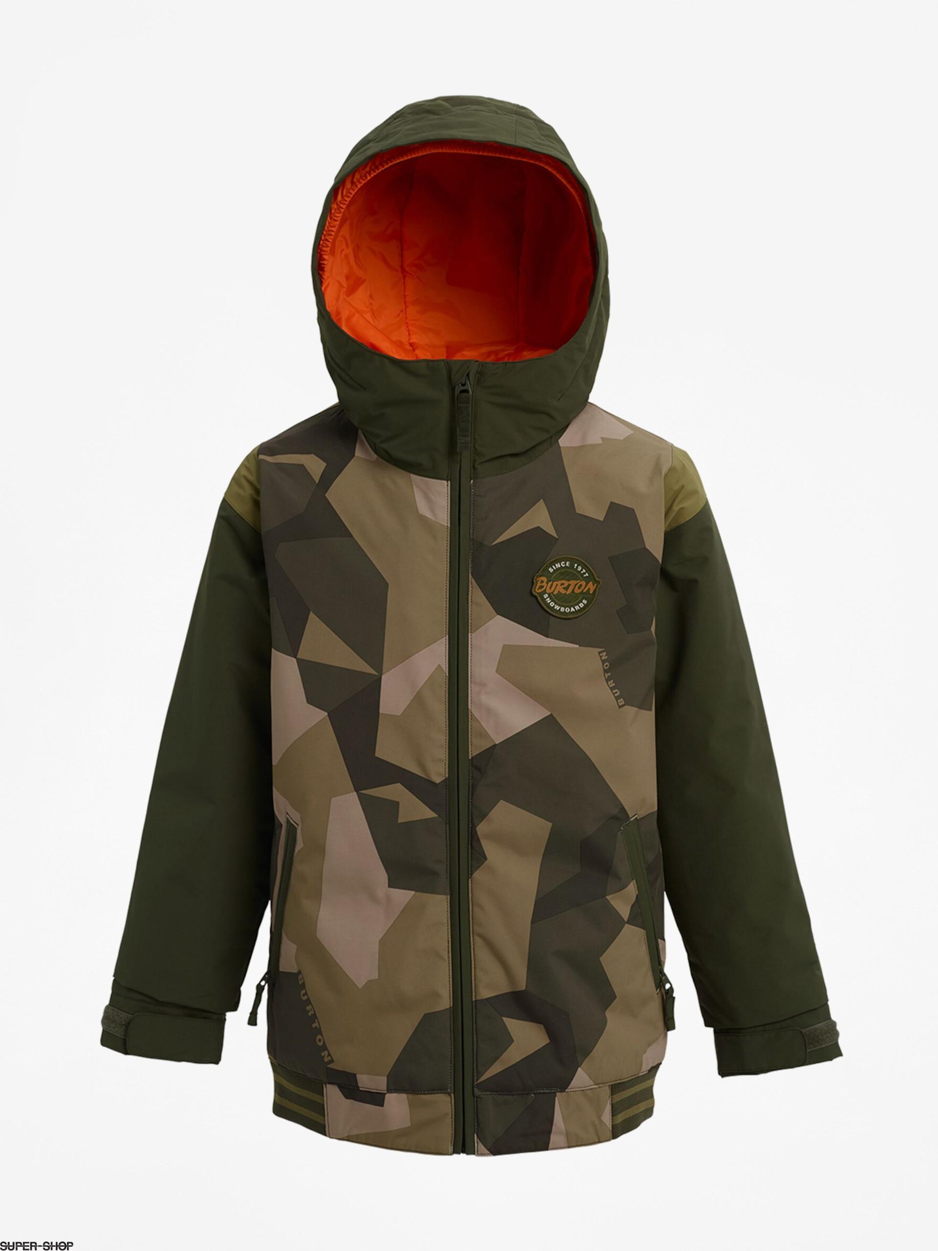parhaat kengät paras verkkosivusto klassinen istuvuus Burton Game Day Snowboard jacket (three crowns camo)