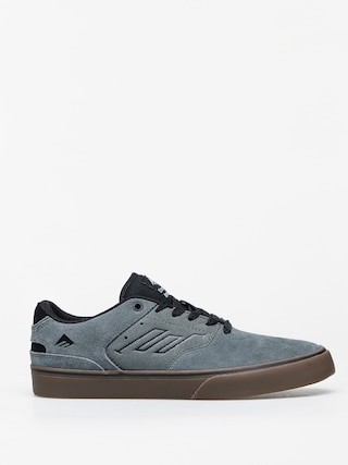 Emerica The Reynolds Low Vulc Shoes (grey/black/gum)