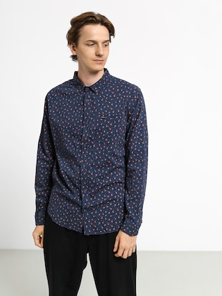 RVCA Prelude Floral Ls Shirt (moody blue)