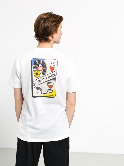 RVCA Smith Street T-shirt (white)
