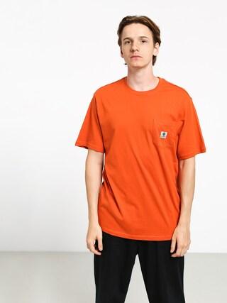 Element Basic Pocket Label T-shirt (burnt ochre)