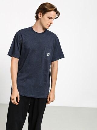Element Basic Pocket Label T-shirt (indigo heather)