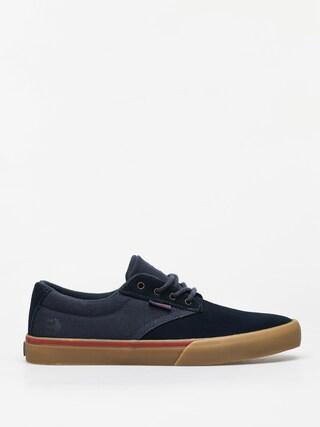 Etnies Jameson Vulc Shoes (navy/tan)