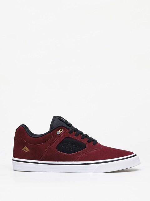 Emerica Reynolds 3 G6 Vulc Shoes (maroon/black/white)