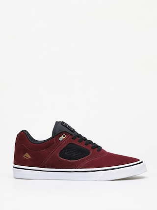 Emerica Reynolds 3 G6 Vulc Shoes (maroon/black/white)