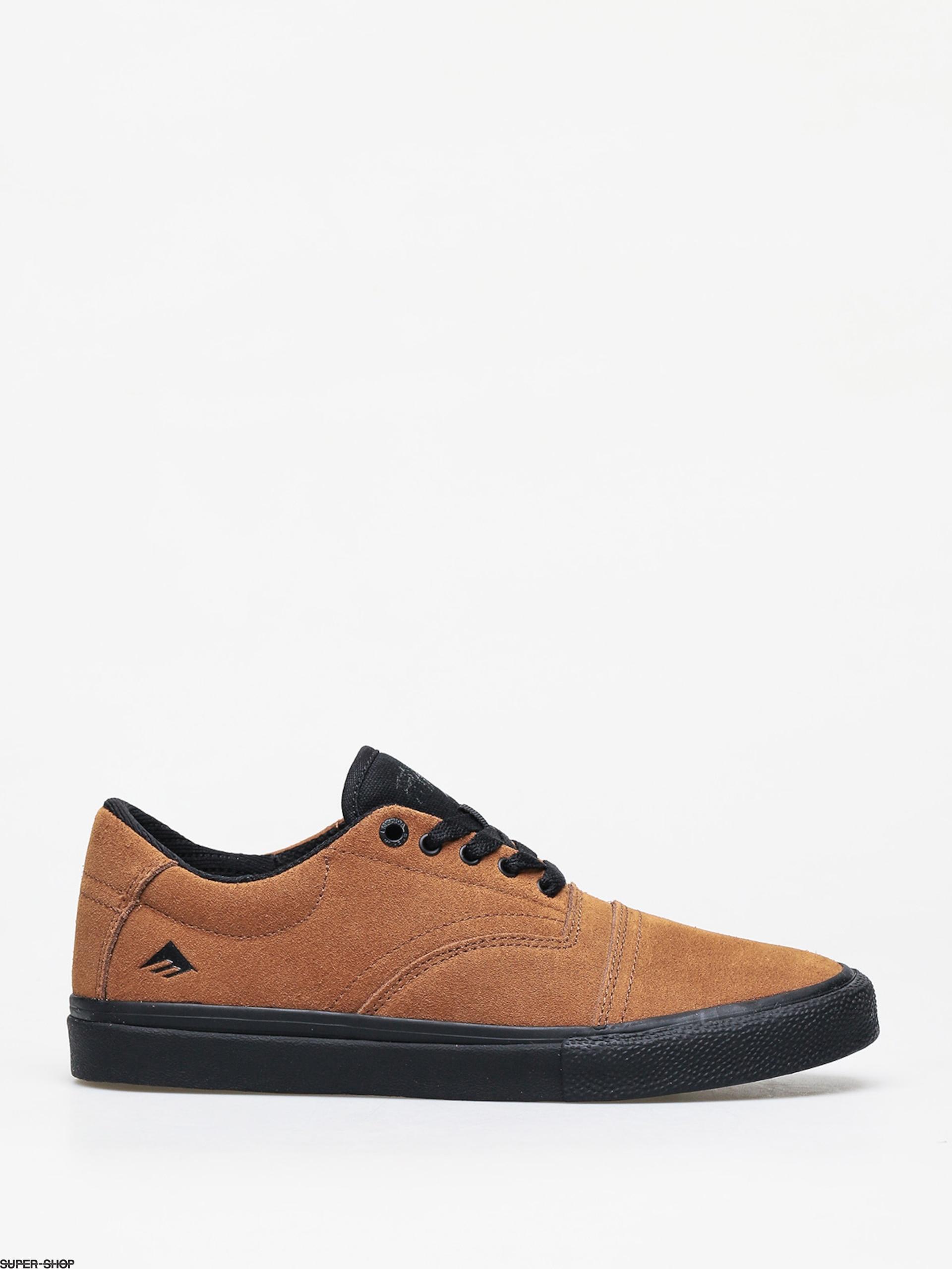 Emerica Skateboard Shoes Provider Tan//Black