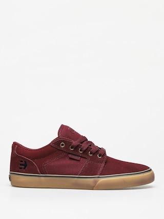 Etnies Barge Ls Shoes (burgundy/tan)