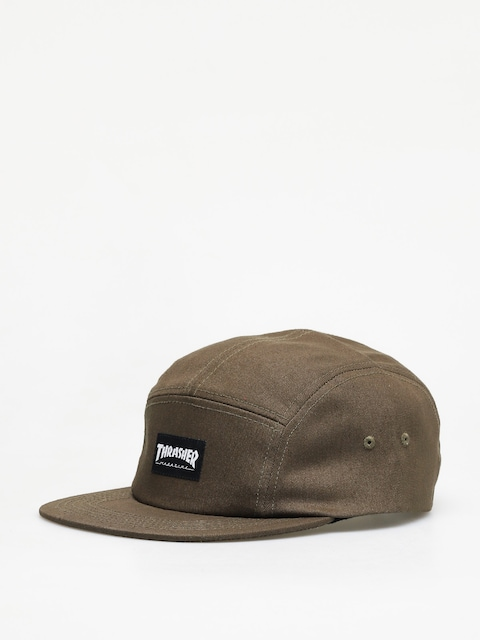 Thrasher 5 Panel Hat ZD Cap (army green)