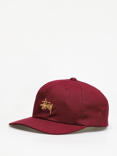 Stussy FA19 Stock Low Pro ZD Cap (burgundy)