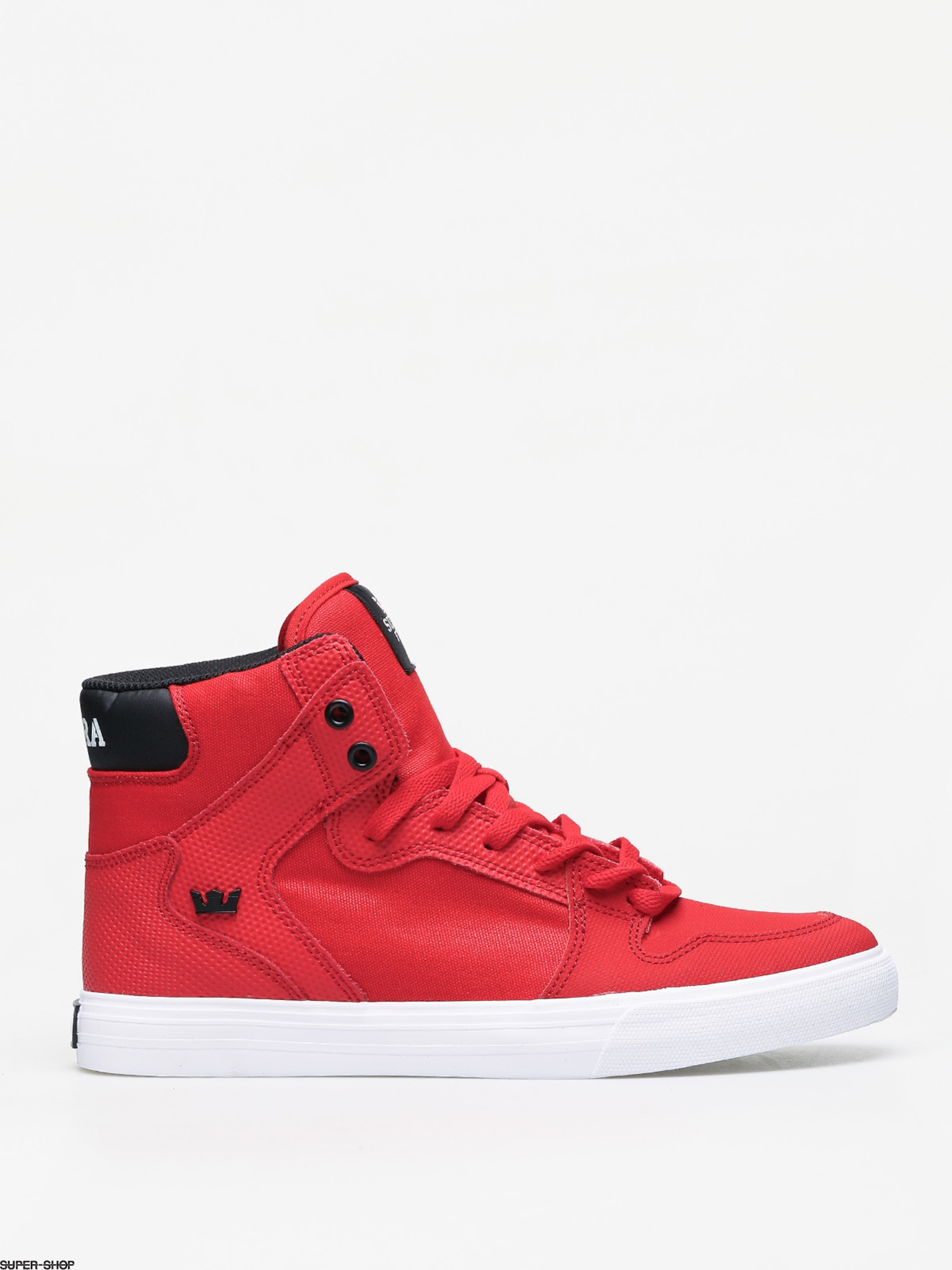 Supra Vaider Shoes (risk red/black white)