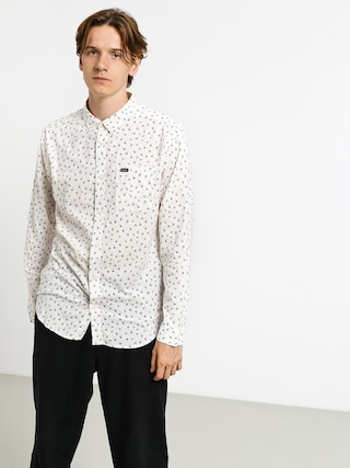 RVCA Prelude Floral Ls Shirt (antique white)