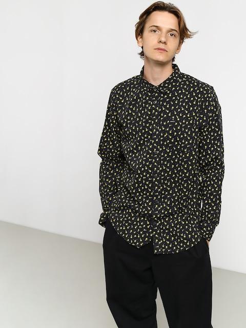 RVCA Prelude Floral Ls Shirt (pirate black)