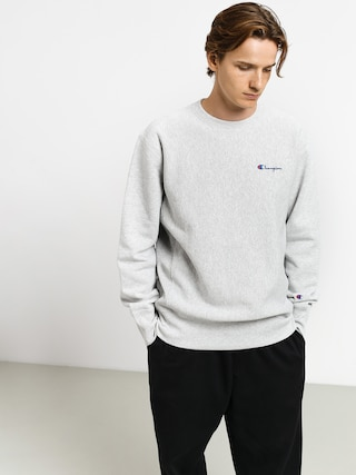 Champion Premium Reverse Weave Crewneck Left Chest Logo Sweatshirt (loxgm)