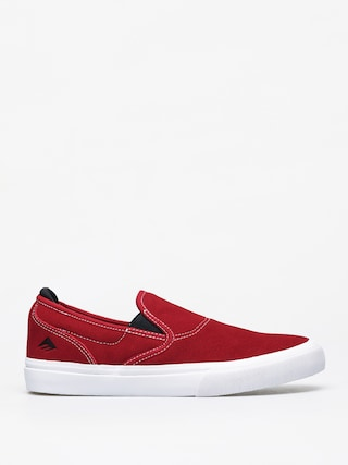 Emerica Wino G6 Slip On Shoes (red/white/black)