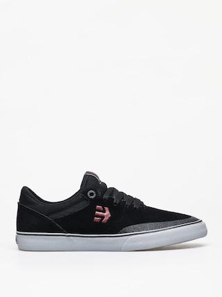 Etnies Marana Vulc Shoes (black/red/grey)