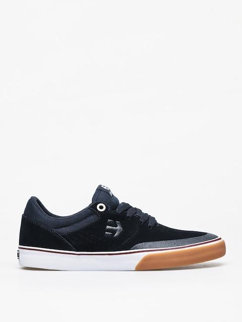 Etnies Marana Vulc Shoes (navy/tan/white)