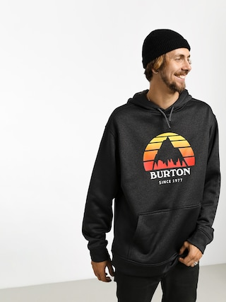 Burton Oak HD Hoodie (sunset true blk htr)