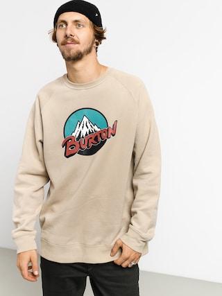 Burton Retro Mtn Crew Sweatshirt (plaza taupe)