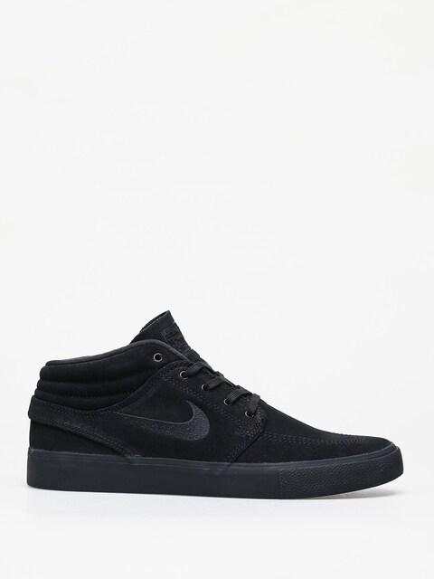 Nike SB Zoom Janoski Mid Rm Shoes (black/black black black)