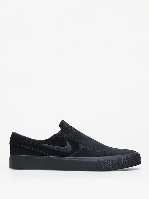 Nike SB Zoom Janoski Slip Rm Shoes (black/black black black)