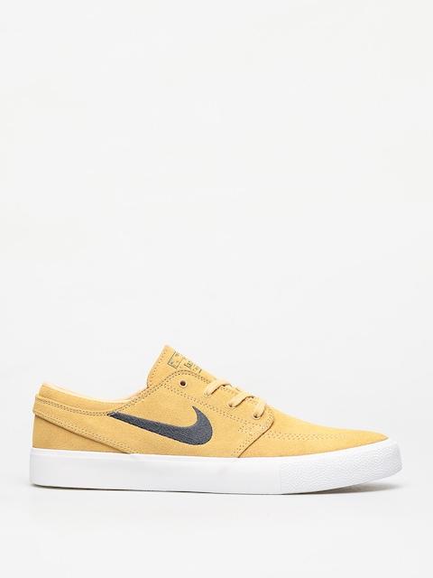 Nike SB Zoom Janoski Rm Shoes (celestial gold/anthracite summit white)