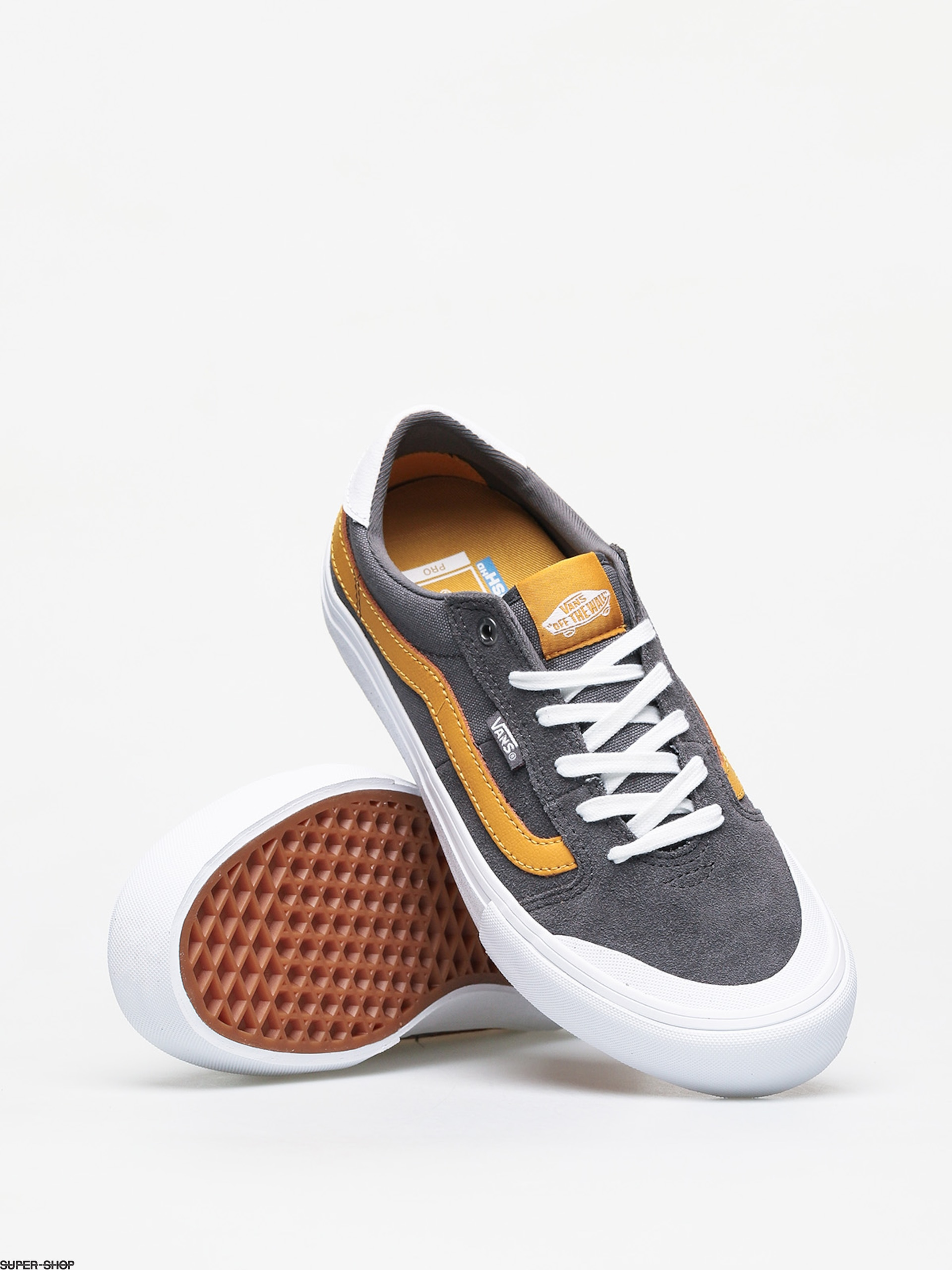 Vans Style 112 Pro Shoes (pewter/mango