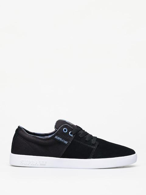 Supra Stacks II Shoes (black/bering white)