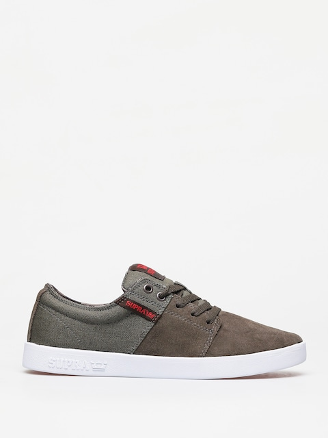 Supra Stacks II Shoes (olive/demitasse white)