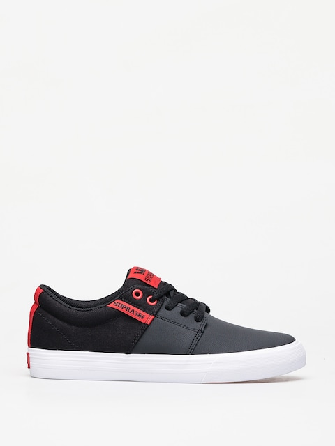 Supra Stacks Vulc II Shoes (black/risk red white)