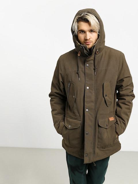 Volcom Starget 5K Parka Jacket (major brown)