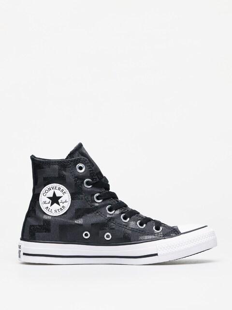 Converse Chuck Taylor All Star Hi Chucks Wmn (black/almost black/white)