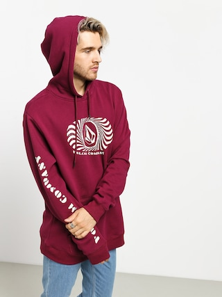 Volcom Supply Stone HD Hoodie (plum)
