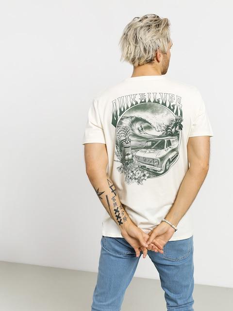 Quiksilver Waves Women And Wheels T-shirt (antique white heathr)