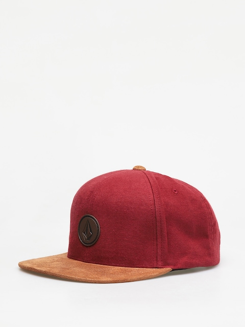Volcom Quarter Fabric ZD Cap (burgundy)