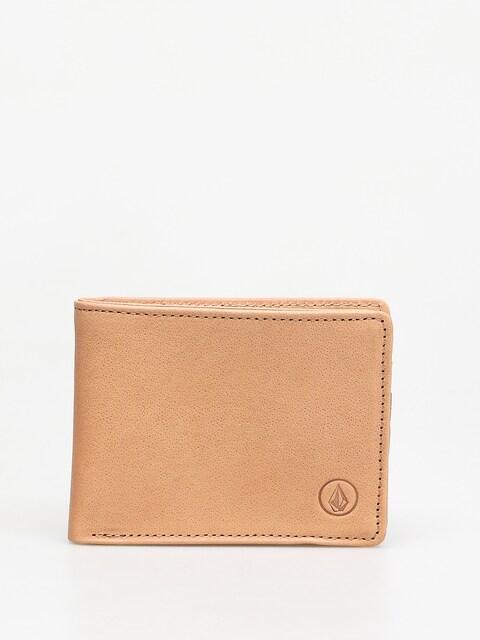 Volcom Strangler Lth Wallet (natural)