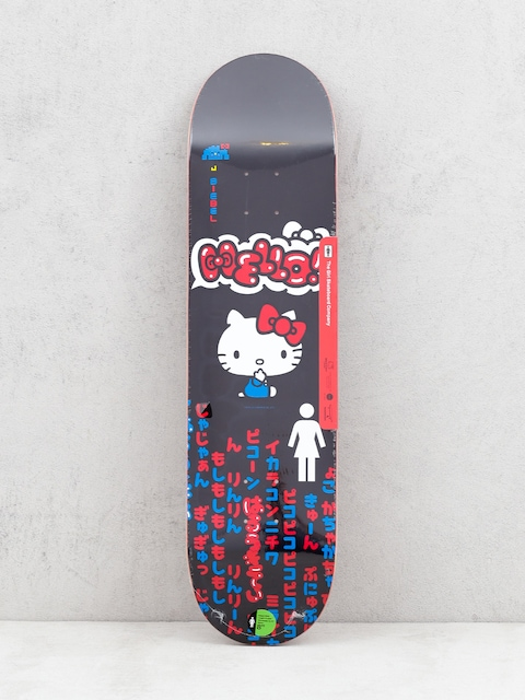 Girl Skateboard Biebel Hello Kitty Deck (black)