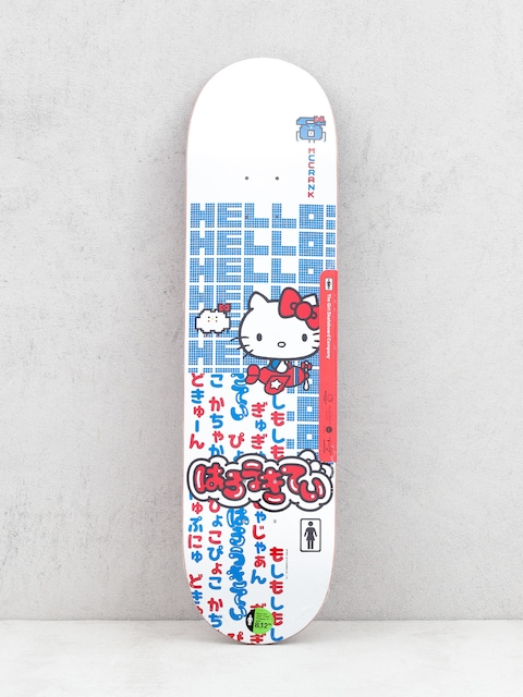 Girl Skateboard Mccrank Hello Kitty Deck (white)