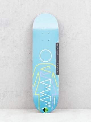 Girl Skateboard Carroll Wayward Deck (blue)