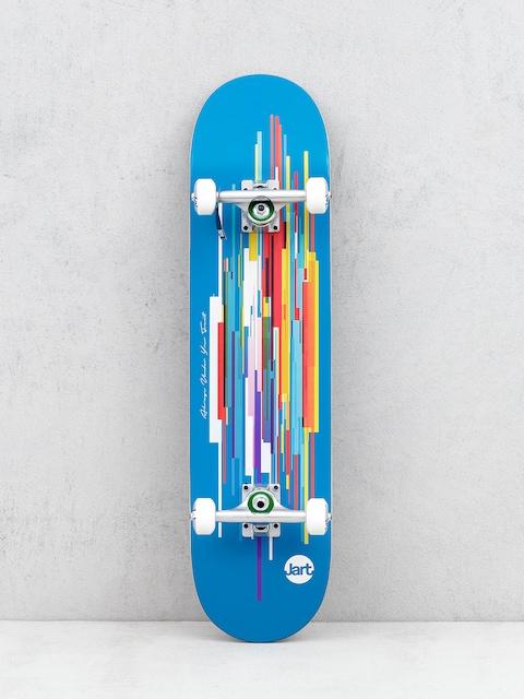 Jart Defrag Skateboard (blue/multi)