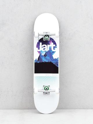 Jart Skyline Skateboard (white/multi)