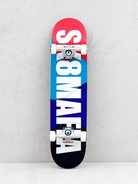 Sk8Mafia Og Logo Overlap Skateboard (multi)