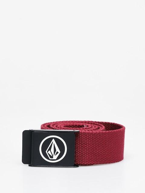 Volcom Circle Web Belt (cabernet)