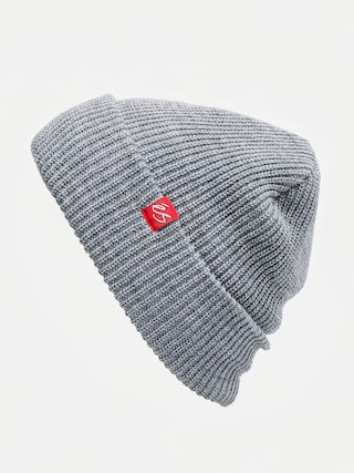 Es Block Beanie (grey/heather)